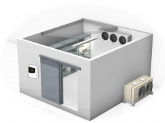 Highly-efficient cold rooms for reliable food storage